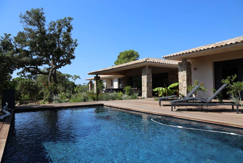 Villa Saint Cyprien Porto-Vecchio en location avec piscine chauffée