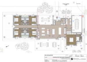 Plan villa Villa Saint Cyprien Porto-Vecchio en location