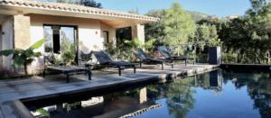Conciergerie Location Villa 8 personnes porto-vecchio