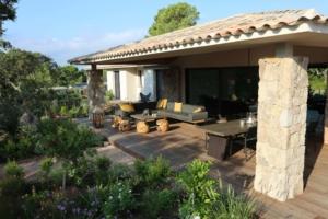 Villa Saint Cyprien Porto-Vecchio en location terrasse et jardin
