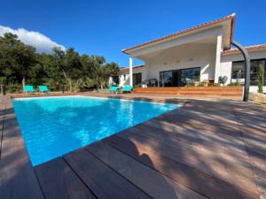 Belle piscine Location Villa Saint Cyprien Porto-Vecchio
