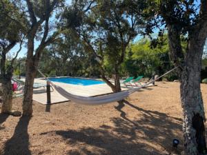 Location Villa Saint Cyprien Porto-Vecchio avec jardin et hammak