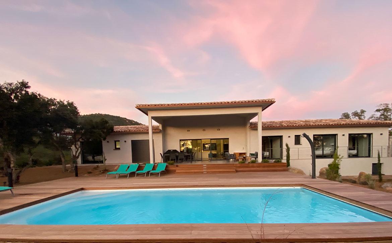 Location Villa Saint Cyprien Porto-Vecchio avec piscine privée