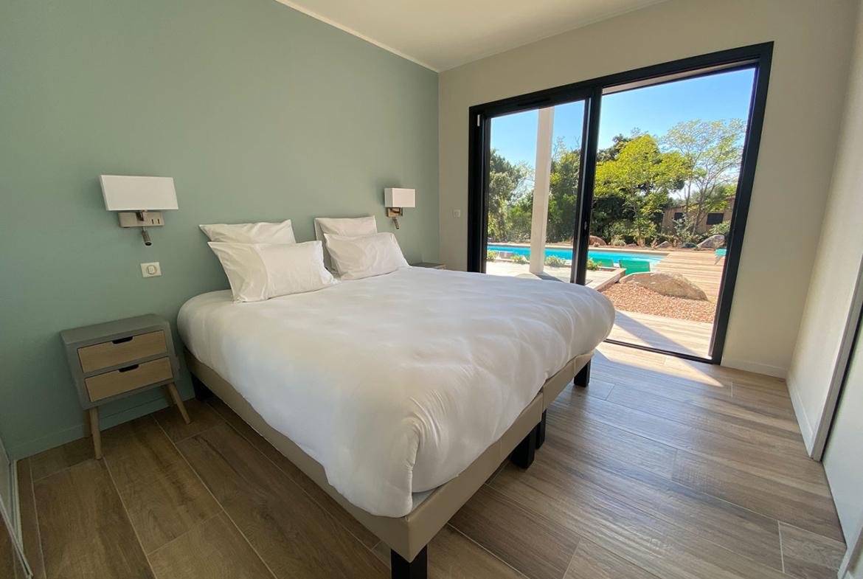 Location Villa Saint Cyprien Porto-Vecchio Chambre avec vue