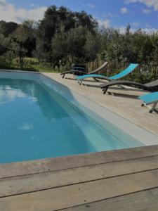 Piscine Conciergerie Location Villa Saint Cyprien Porto-Vecchio