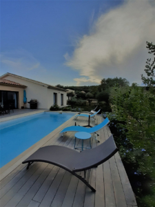 Jardin Conciergerie Location Villa Saint Cyprien Porto-Vecchio